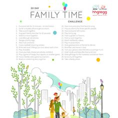 One of the best New Year's Resolutions you can make this year is to bring your family closer together. Resolve to take our printable 30 Day Family Time Challenge and do something simple every day for a month to bring your family closer together. #family #freeprintable