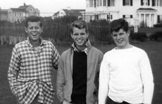 May 29, 1917:  John F. Kennedy was born in Brookline, Massachusetts.  Cape Cod served as the backdrop for Kennedy family gatherings over many years. Browse this gallery of Kennedy family photographs taken at the Hyannis Port compound.  Photos from the John F. Kennedy Library, Boston. Source: PBS This Day In History.