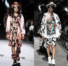 Nozomi Ishiguro Haute Couture 2014 Spring Summer Mens Runway Collection - Mercedes-Benz Fashion Week Tokyo Japan - Streetwear Denim Jeans Sh...