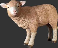 "MERINO LAMB STATUE MADE OF RESIN  17"" H x11.5"" W x 25"" L  WEIGHS APPROXIMATELY 8 LBS  FREE SHIPPING within the contiguous United States  via UPS GROUND  626-252-7354 - LMTREASURES.LL@GMAIL.COM  All of our statues are handcrafted and hand painted, therefore you will find that each one may be a little different in color and may have some imperfections, this is what makes each of them unique. For a discount mention code ""CINDY"" Price:  $156.65"