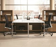 Globalintroduces a series of enhancements to its contemporary Princeton desking series, including a sleek open metal leg design for workstations, plus a variety of new storage components, including mobile lateral files and wall-mounted storage options. New Princeton tables are offered in varying heights up to 42 inches high to accommodate stools.