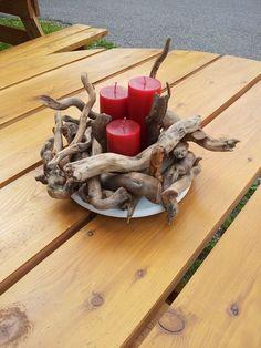 bougeoir#bois flotte#déco#maurel