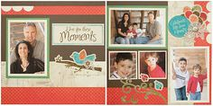 layout from Lisa's Creative Corner (CTMH) (Stella paper)