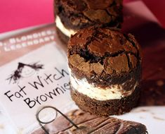 Fat Witch Brownies.... Cream Cheese filling adds to the yumminess....
