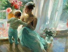 "Saatchi Online Artist: Vladimir Volegov; Oil, 2010, Painting ""First Steps"""