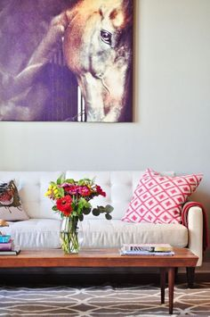 House Tour: Hallie's Whimsical Yet Sophisticated Loft | Apartment Therapy