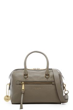 The Marc Jacobs Recruit Leather Bauletto Bag