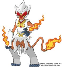 Mega Infernape by IqbalPutra on DeviantArt