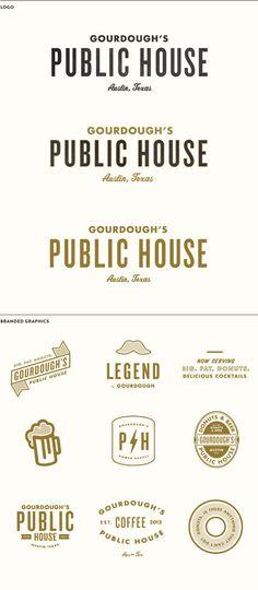 Gourdough's Public House Logos