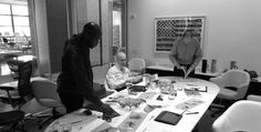 David Adjaye's design process.  Go behind the making of the Washington Collection for Knoll.
