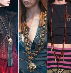Fall/ Winter 2014-2015 Jewelry Trends: Elongated Chains  #jewelry #accessories