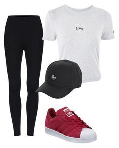 """Untitled #45"" by ipekttl on Polyvore featuring adidas and Topshop"