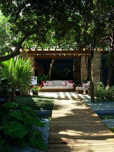 Casa Cor 2008 - Catê Poli Paisagismo -  Architecture landscape design garden