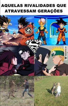 .....sem palavras Anime Meme, Otaku Meme, Naruto Funny, Anime Naruto, Best Memes, Funny Memes, Dark Jokes, Best Duos, Jojo's Bizarre Adventure