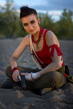 Fem Vaas Cosplay Far Cry 3 #Rule63 by LadyofRohan87.deviantart.com