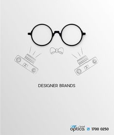 OPTICA SERVICES DIGITAL CAMPAIGN 05 Designer Brands by Mohamed Rayan on behance. minimal simple and friendly Ad #behance #glasses #fashion #eyewear #ad #advertising #digitalart #art #campaign #socialmedia #services Ad Design, Store Design, Branding Design, Creative Poster Design, Ads Creative, Glasses Logo, Glasses Quotes, Doodle On Photo, Planet Logo