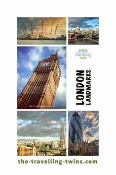 Landmarks in London - 18 Most Famous London Landmarks London Landmarks, Famous Landmarks, Tower Of London, London City, Europe Travel Guide, Travel Tips, Travel Ideas, Travel Destinations, Millennium Bridge