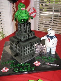 Ghostbusters. Tiffany...idea for Chris! Not sure if he was into ghostbusters or…