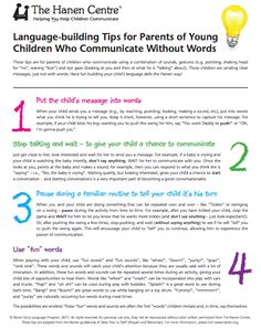 Top 5 Parent Handouts for {Preschool} SLPs
