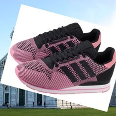 sports shoes ad462 70ce9 Scarpe Donna Adidas Zx 500 OG Weave Nero Rosa HOT SALE! HOT PRICE!