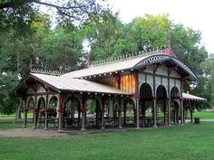 Old Victorian Picnic Shelter, Tower Grove Park (STL Pin of the Day, 7/11/2014).
