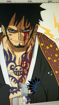 One Piece Fanart, One Piece Manga, Trafalgar D Water Law, One Piece Pictures, Anime Characters, Fictional Characters, Cosplay Costumes, Badass, Batman
