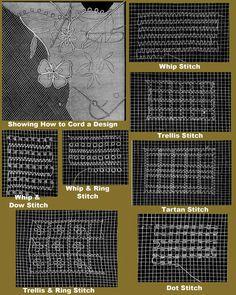 2D 200 c.1901 di Weldon pratico pizzo Carrickmacross di ivarose