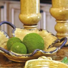 Exuding an unmistakable rustic appeal, our freeform pottery bowl will provide an artistic display vessel for your buffet, kitchen, or at your next special gathering.  Available in three finishes, thes...