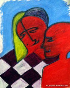 un homme et une femme | affiche pour magasin de vêtements