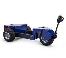 R9 Zallys, Ručně Vedený Elektrický Vozík - Tahač. Rychlost - 5km/h, Nosnost vozíku - 1 500kg; Max. tažná kapacita - 10 000kg; Max. Sklon 15%. Snadná přeprava těžkých břemen do hmotnosti až 1 500kg nebo tažení vozíků o hmotnosti až do 10 000kg.
