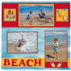 beach scrapbooking ideas - Google Search