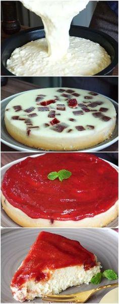 A MAIS FACIL Torta de ricota com goiabada #torta #ricota #gastronomia #comida #sobremesa #bolos #pães #receita #receitas