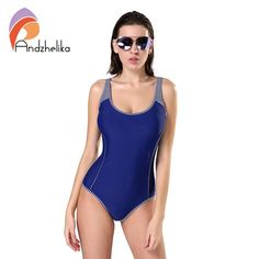 One Piece Solid Patchwork Swimwear  #blue #styleblogger #amazing #details #withoutfilter #instamood #girls #fashionshow #highfashion #beautiful
