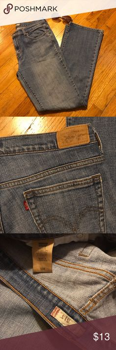 "Levi's Bootcut jeans Levi's 515 bootcut fit.  Light blue and excellent condition.  Waist 17"", inseam 31"" flat.  Size 10 Levi's Levi's Jeans Boot Cut"
