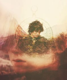 I love from Concerning Hobbits Facebook page. Frodo with angel wings! :)