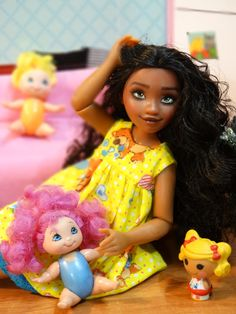 Моана дома / Другие интересные игровые куклы для девочек / Бэйбики. Куклы фото. Одежда для кукол