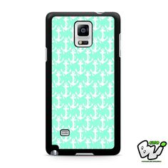 Anchor Green Mint Samsung Galaxy Note 4 Case