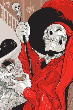 The Phantom Of The Opera by Martin Ansin, via Behance