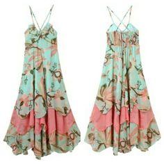 HP! ⭐ Gorgeous Floral Chiffon Boho Maxi Dress Gorgeous Chiffon Boho Maxi Dress Fits 2-4. Brand NEW With Tags! Floral peacock chiffon full length dress. Size small. Will measure! H&M Dresses Maxi