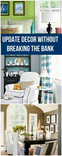 Update Your Décor without Breaking the Bank • Ideas & Tips!