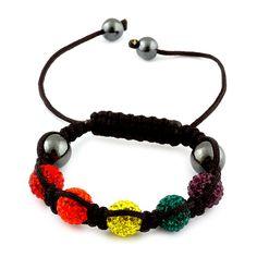 Liquidation Channel | Rainbow Austrian Crystal #Tranquility Bracelet