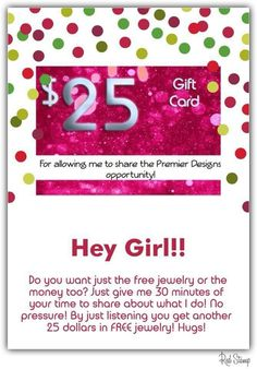 Heres what it will cost you to say no to premier designs business you can sparkle and make 40 70hr too email me at christinesjewelrygmail and tell me you want a gift card just for listening premier designs yadclub Image collections