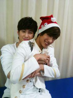 Shim Hyunseong and No Minwoo