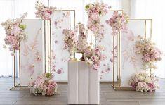Wedding Backdrop Design, Wedding Stage Decorations, Backdrop Decorations, Wedding Themes, Wedding Designs, Backdrops, Wedding Cake Backdrop, Wedding Gowns, Cage Deco