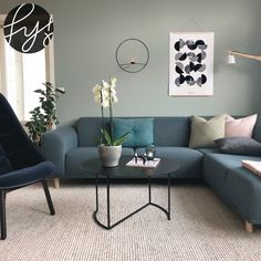 Living Room Color Schemes, Living Room Colors, Living Room Grey, Living Room Decor, Room Interior, Interior Design Living Room, Living Room Designs, Room Wall Colors, Living Room Inspiration