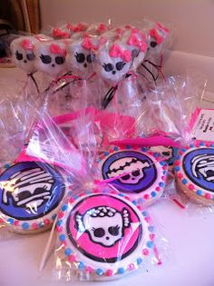 monster high cookie templates