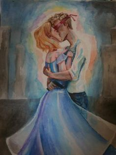 AAAH BEAUTIFUL FANART OF CRESS AND THORNE