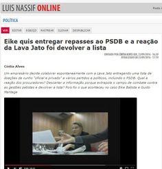 Eike já quis denunciar caixa 2 do PSDB à Lava Jato, mas Sergio Moro e MPF preferiram devolvê-la