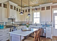 beadboard kitchen ceiling - Google Search