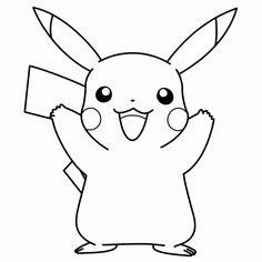 pikachu ausmalbild | pokemon | pokemon ausmalbilder, pokemon zum ausmalen und pokemon malvorlagen